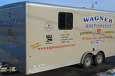 Auction services provided to the Berks County area